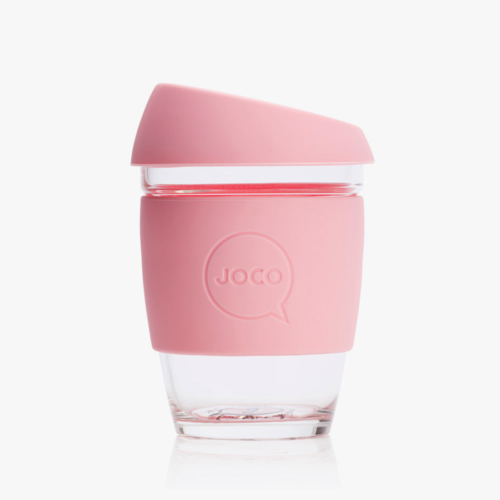 Joco - Reusable Coffee Cup - Strawberry Pink