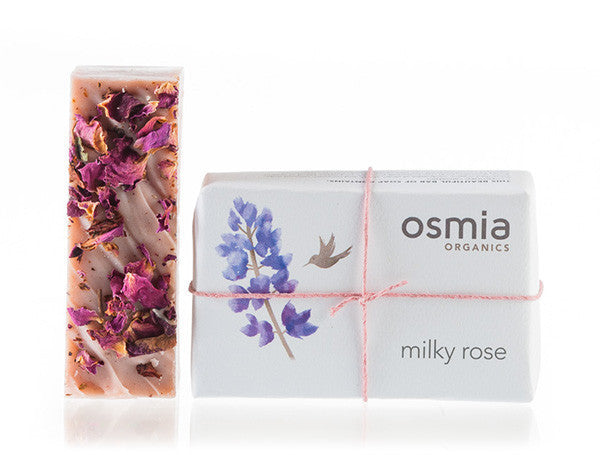 Osmia Organics - Milky Rose Soap - Clementine Fields
