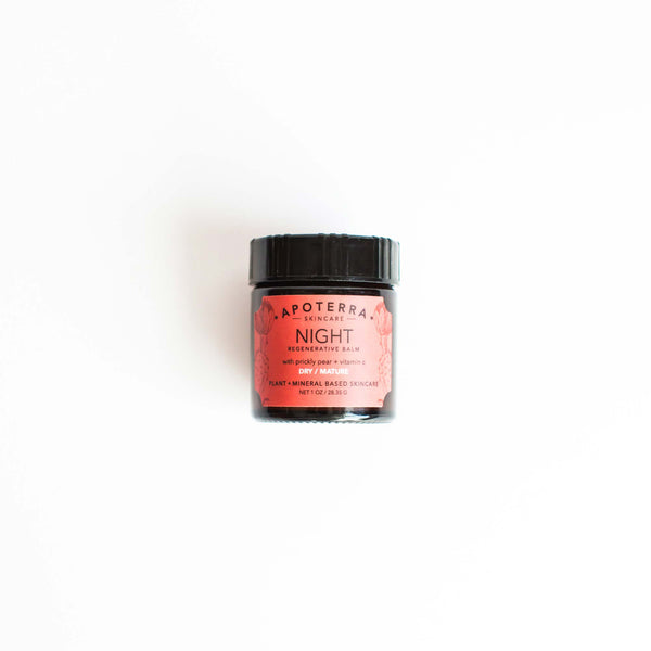 Apoterra Skincare - Night Regenerative Balm with Prickly Pear + Vitamin C