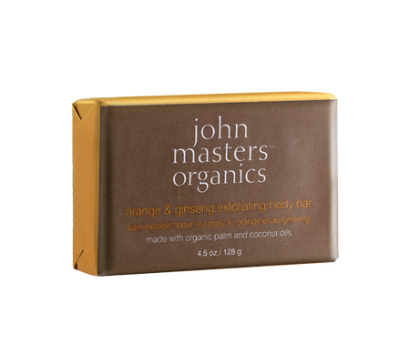 John Masters Organics - Orange & Ginseng Exfoliating Body Bar - Clementine Fields