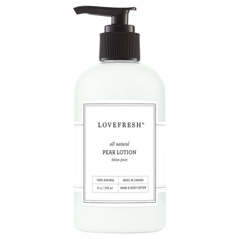 Lovefresh - Hand & Body Lotion - Pear