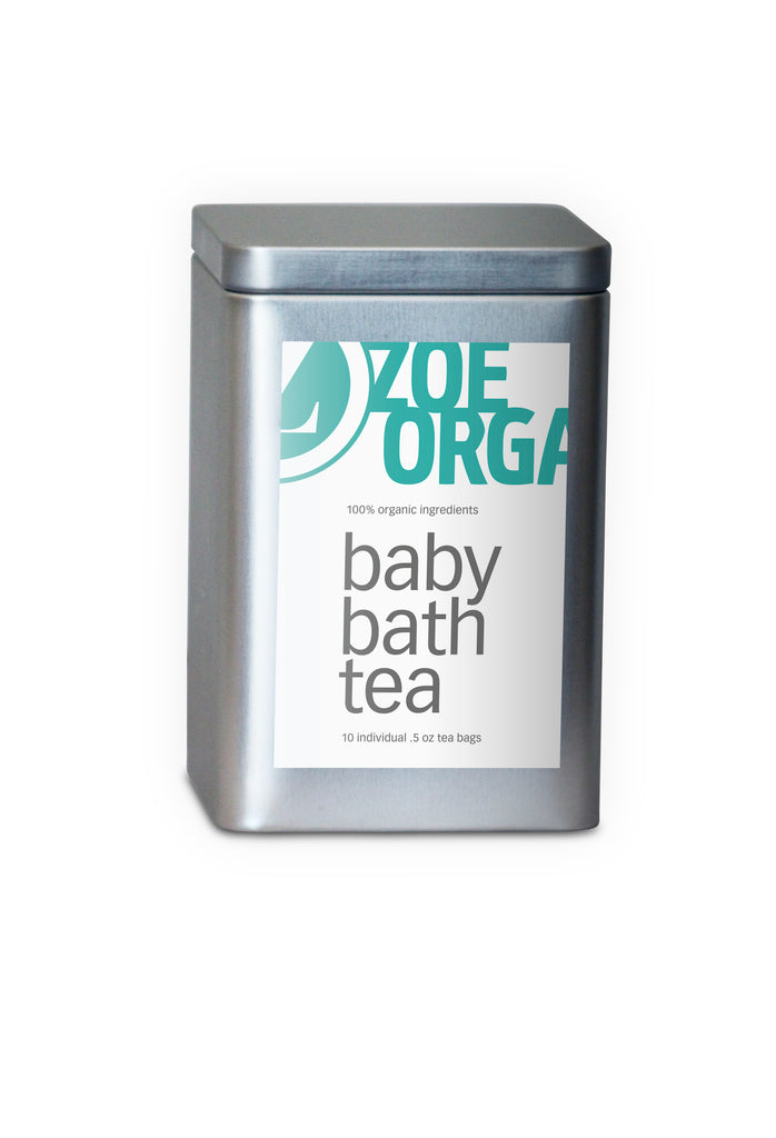 Zoe Organics Baby Bath Tea (2 sizes) - Clementine Fields