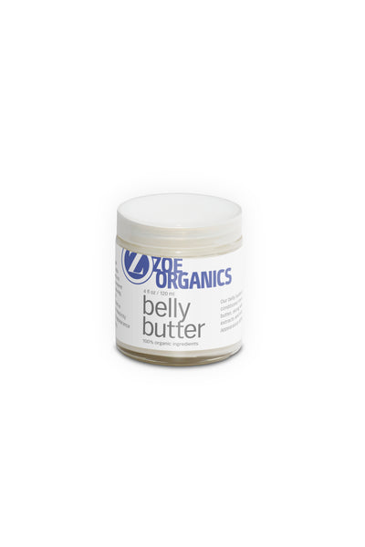 Zoe Organics Belly Butter - Clementine Fields