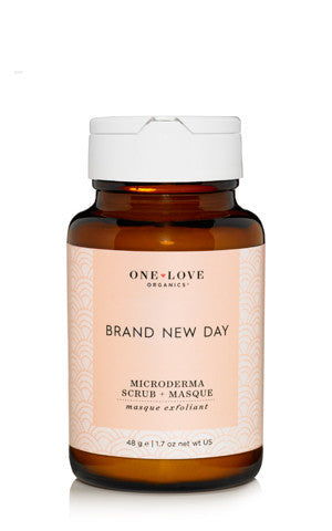 One Love Organics - Brand New Day Microderma Scrub & Masque