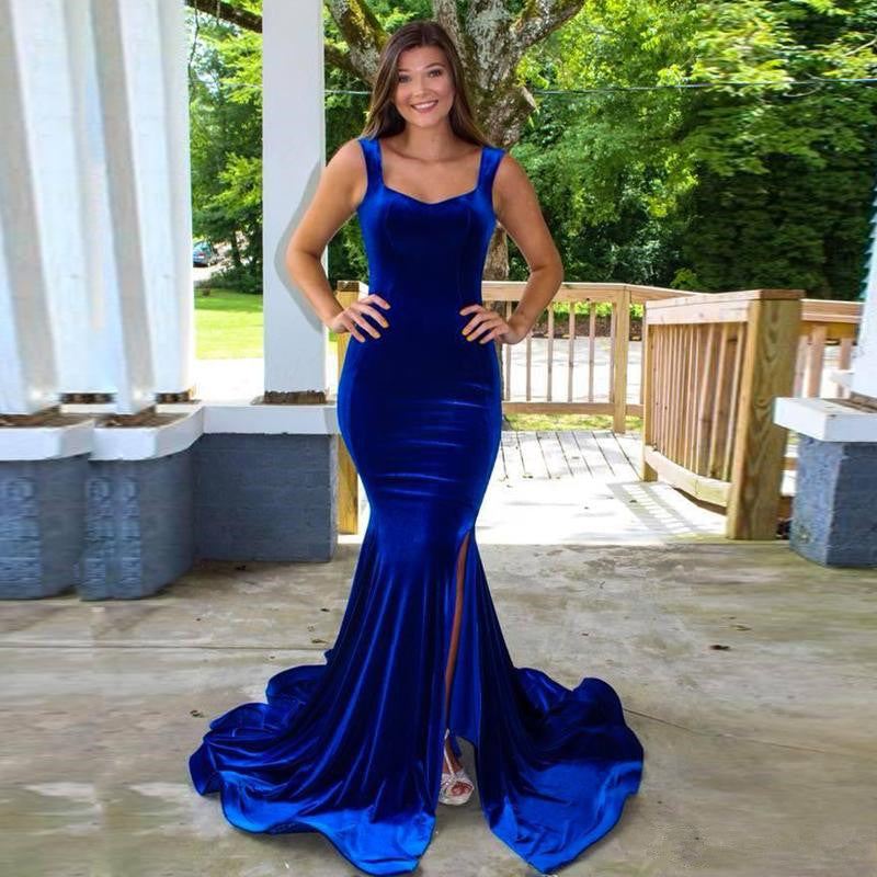 royalbluevelvetbridesmaiddresses
