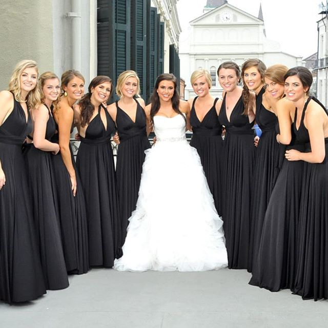 convertable bridesmaid dress