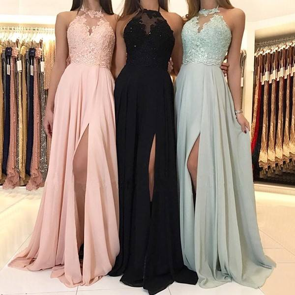 Halter Bridesmaids Dress