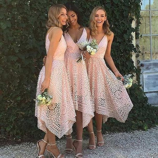 short bridesmaid dress short