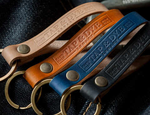 L E G A C Y  Leather Key Fobs