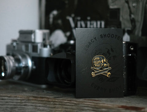 L E G A C Y Shooters Pin - Keep Film Alive