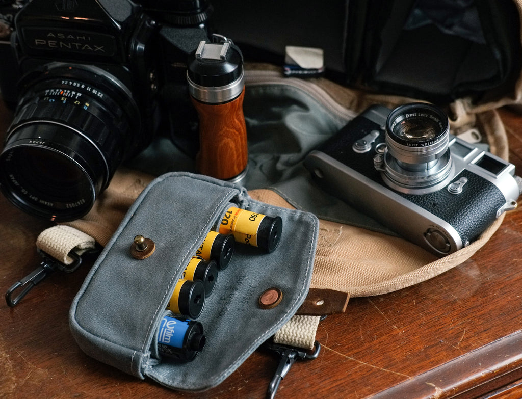 L E G A C Y Shooters - Film Pouch | Slate