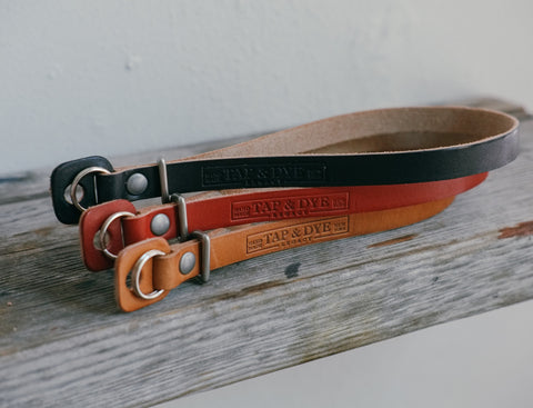 L E G A C Y leather camera wrist strap - Black & Natural, Crimson, Antique Tan