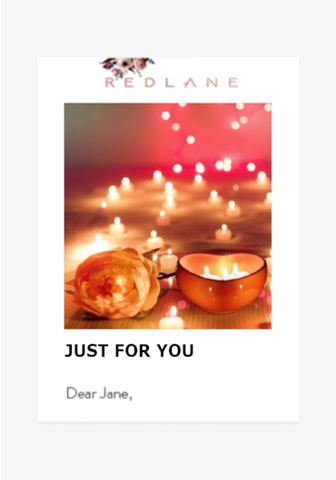 JUST FOR YOU-Gift Card-Redlane.ie