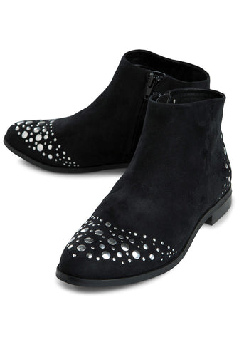 Dailyn Ankle Boot (Black) By Pieces-Footwear-Redlane.ie