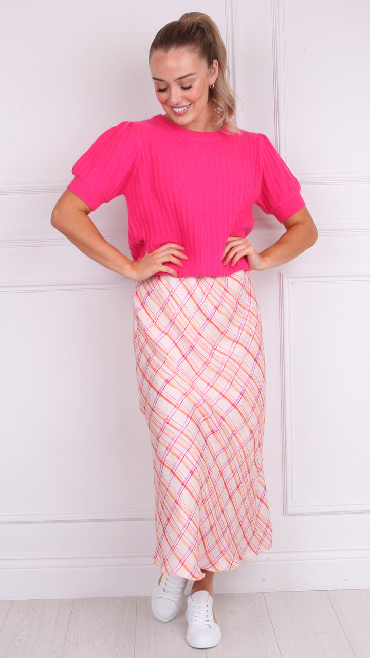 Paula Midi Skirt by Frnch Paris