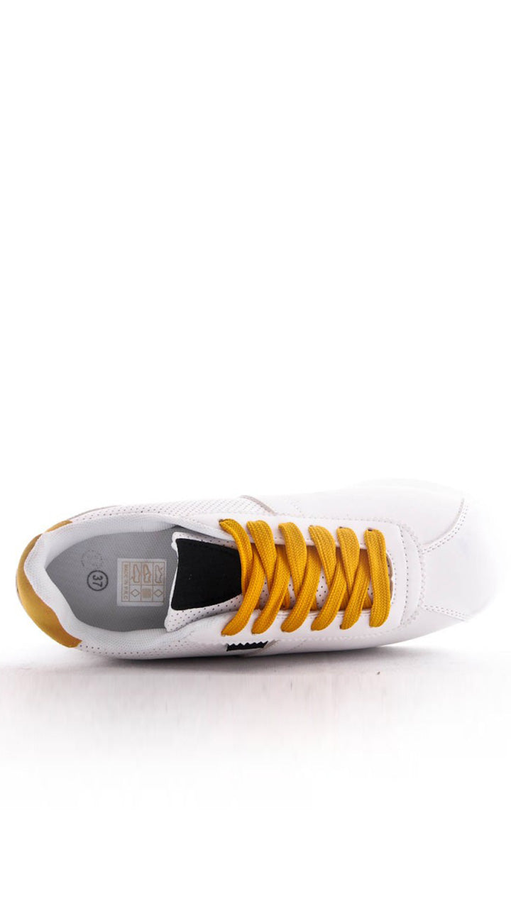 Hayley Trainers in Yellow/Black