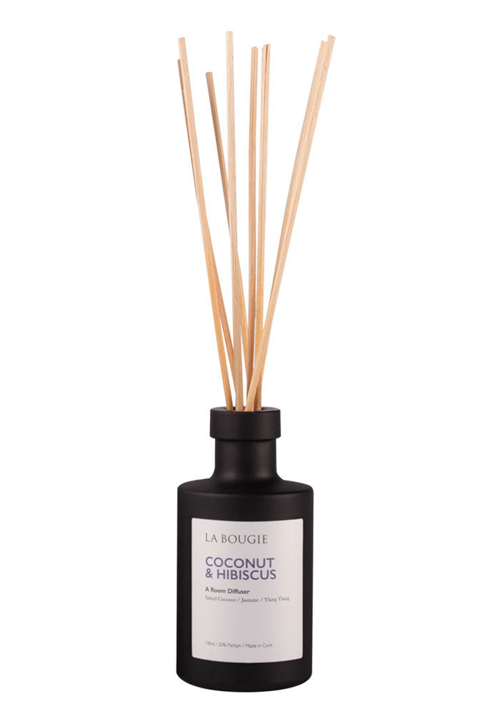 Coconut & Hibiscus Room Diffuser by La Bougie