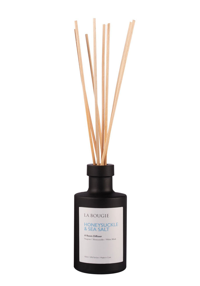 Honeysuckle & Seasalt Room Diffuser by La Bougie