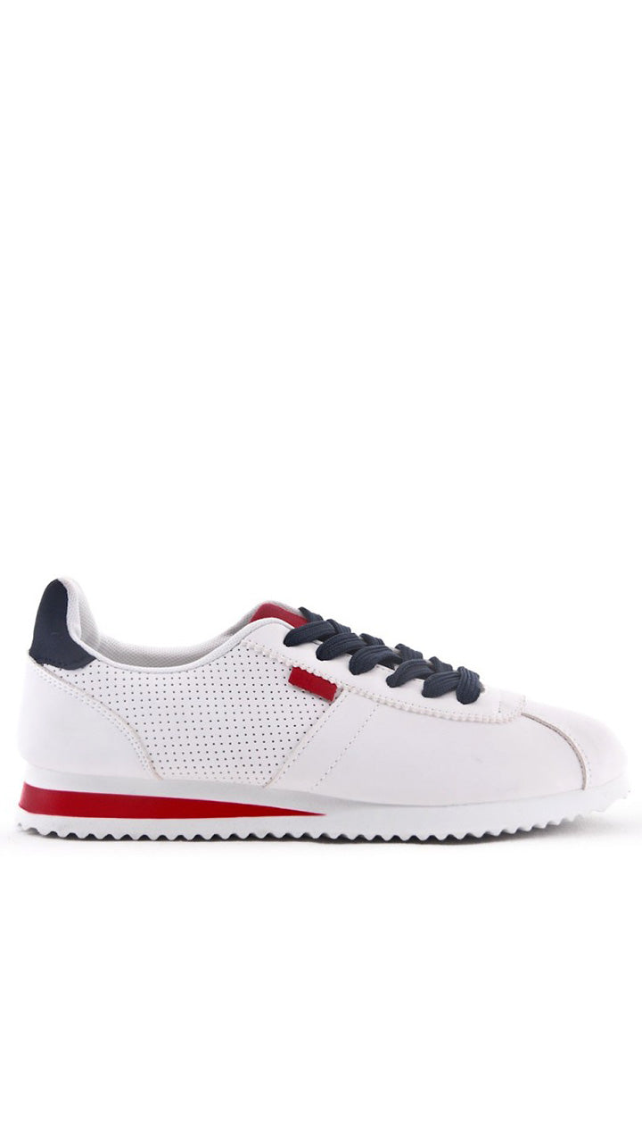 Hayley Trainers in Red/Navy