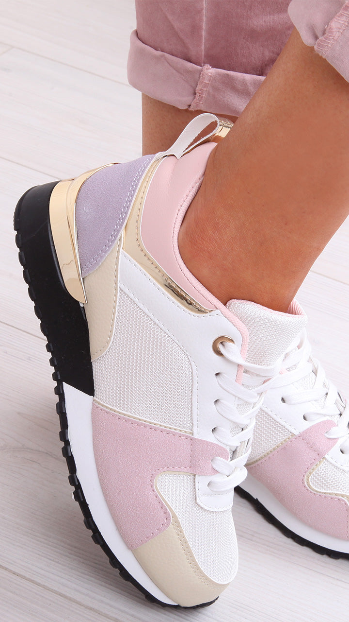 Julie Trainers in Nude