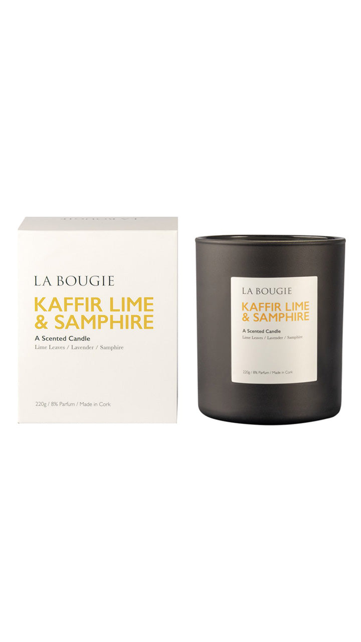 Kaffir Lime & Samphire Scented Candle by La Bougie