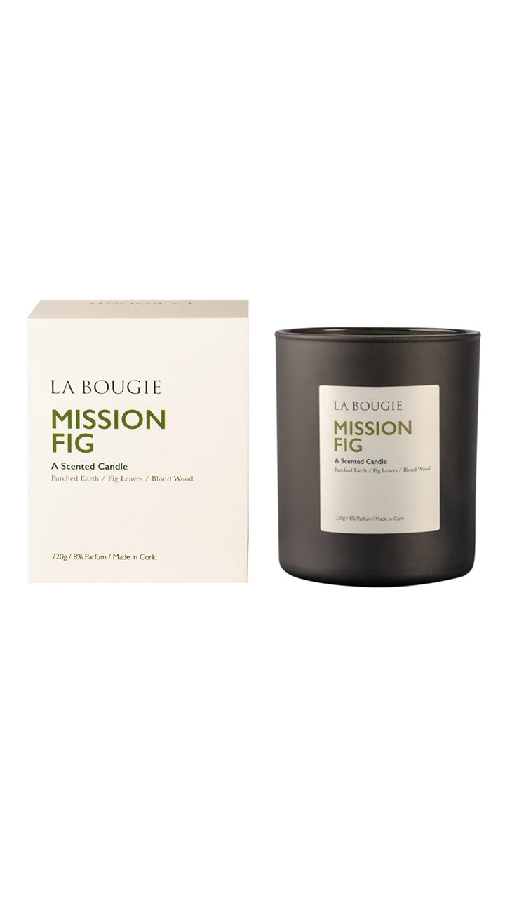 La Bougie Scented Candle in Mission Fig