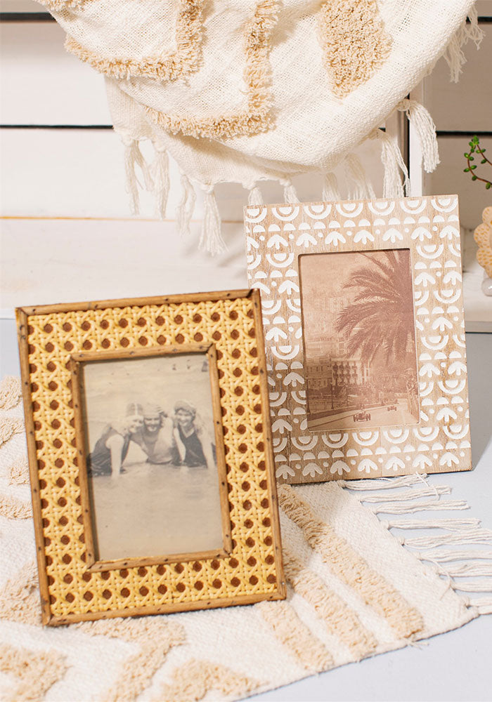 Ibiza Whitewash Photo Frame