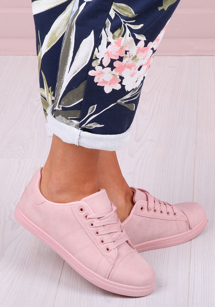 Erin Trainers in Pink