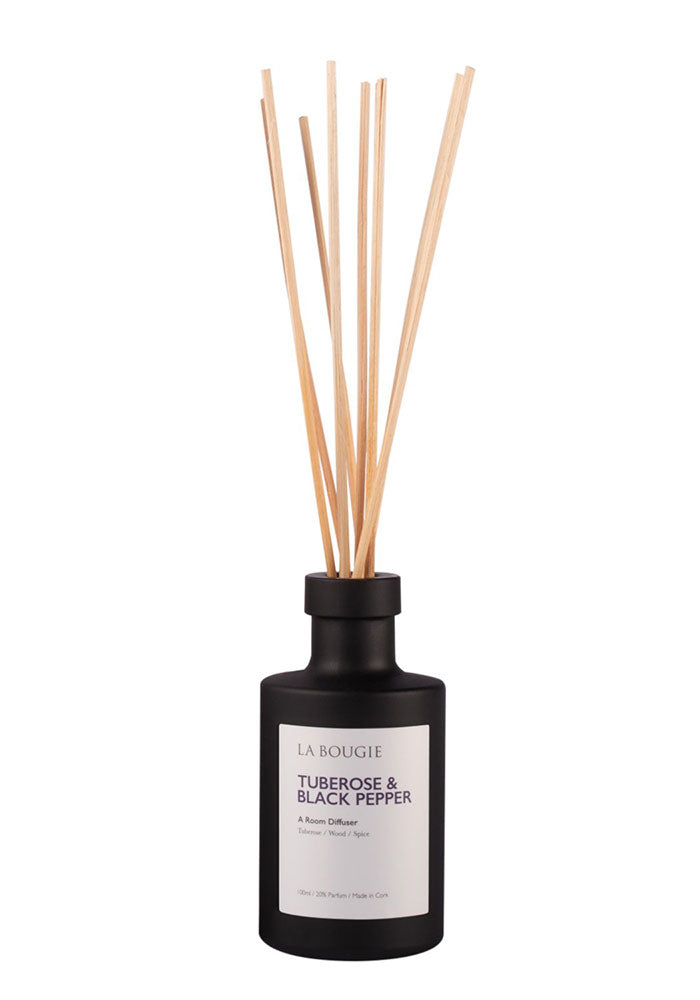 Tuberose & Black Pepper Room Diffuser by La Bougie