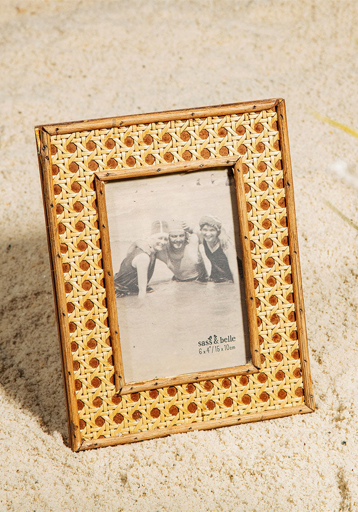 Open Weave Photo Frame