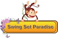Swing Set Paradise Logo - Offerins Lowest Prices on Gorilla Playsets and Swing Set Assembly Services
