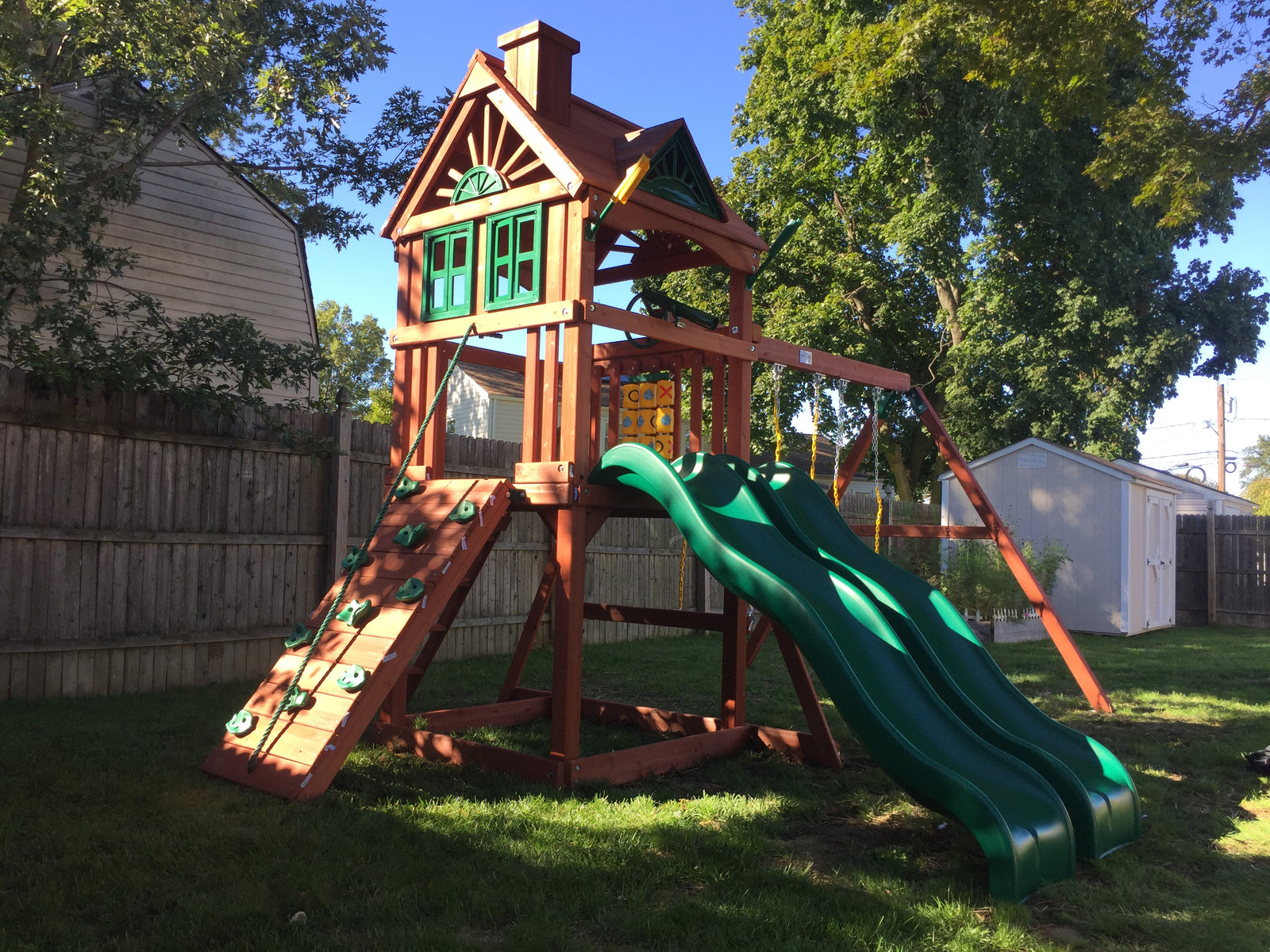 Swing Set Paradise We Sell Amp Install Swingsets Playsets