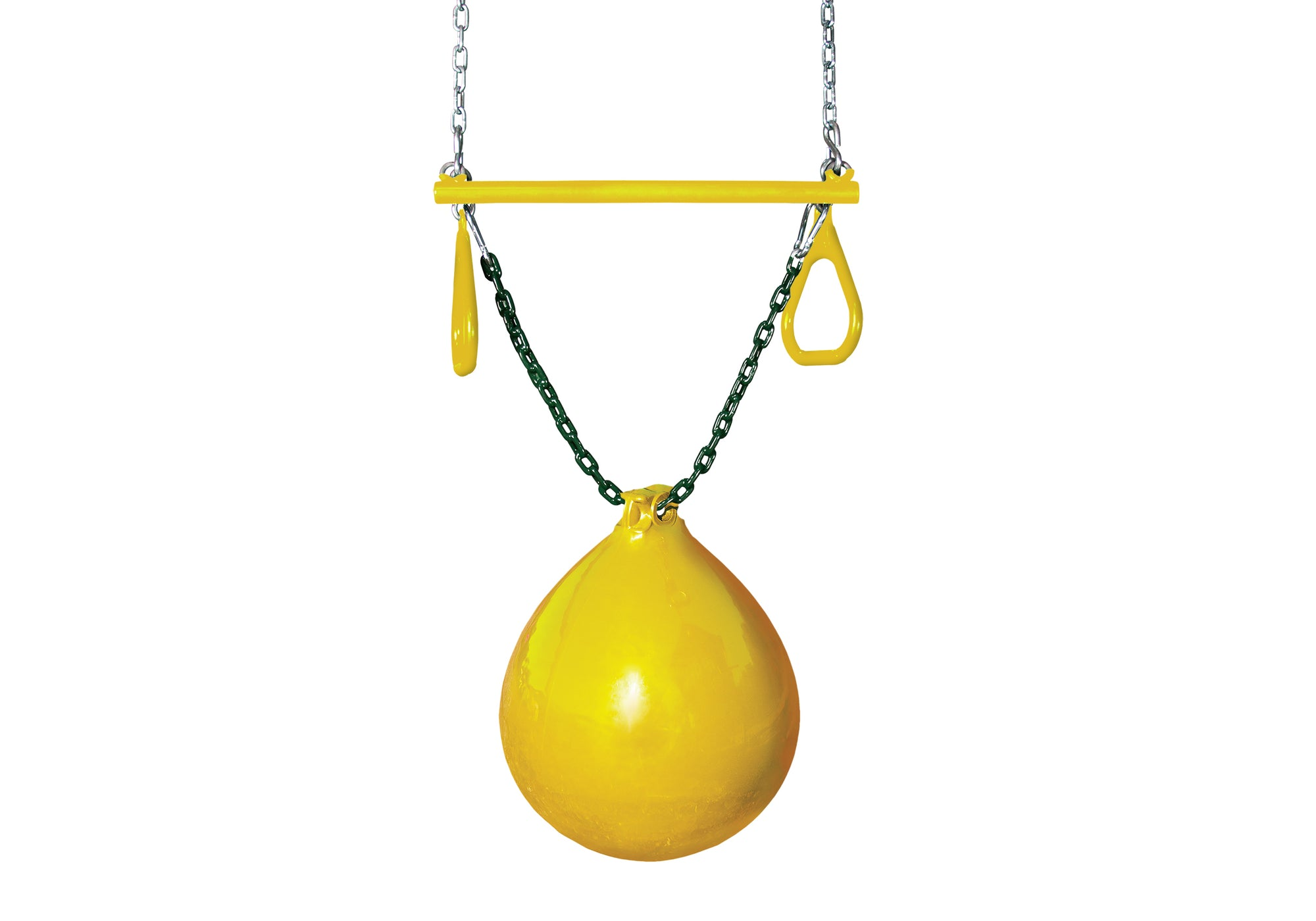 Buoy Ball With Trapeze Bar (Multiple Colors!!) - Swing Set Paradise