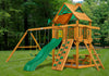 Gorilla Playsets Chateau Wood Roof Swing Set