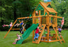Gorilla Playsets Chateau Treehouse Swing Set - Swing Set Paradise
