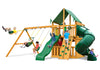 Gorilla Playsets Mountaineer Clubhouse Deluxe Swing Set - Swing Set Paradise