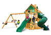 Gorilla Playsets Mountaineer Clubhouse Treehouse Swing Set - Swing Set Paradise