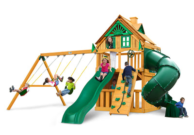 Gorilla Mountaineer Clubhouse Treehouse Playset