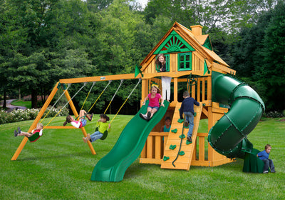Gorilla Mountaineer Clubhouse Treehouse Swing Set
