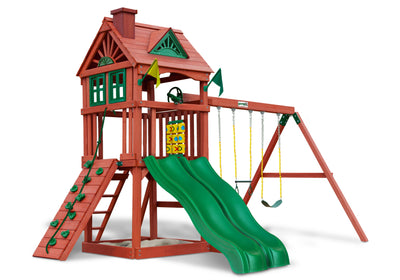 Gorilla Playsets Double Down Swing Set - Swing Set Paradise