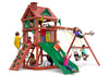Gorilla Playsets Double Down Swing Set Kids Playing