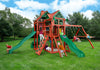 Gorilla Playsets Five Star II Deluxe Swing Set - Swing Set Paradise