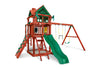 Gorilla Playsets Five Star II with Monkey Bars Swing Set - Swing Set Paradise