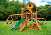 Gorilla Playsets Frontier Malibu Wood Roof Swing Set