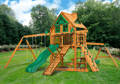 Gorilla Playsets Frontier TreeHouse Swingset