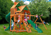 Gorilla Playsets Great Skye I Wood Roof Swing Set - Swing Set Paradise