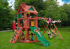 Gorilla Playsets Nantucket Swing Set w/Kids Playing