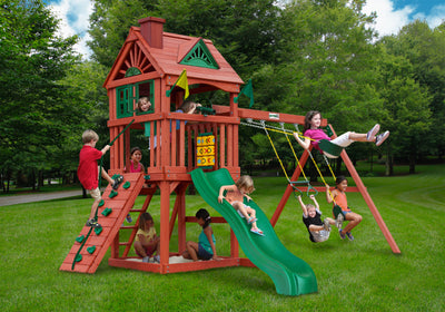 Gorilla Playsets Nantucket Swing Set - Swing Set Paradise