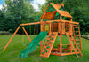 Gorilla Playsets Navigator Wood Roof Swing Set LifeStyle