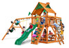 Gorilla Playsets Navigator Wood Roof Swing Set